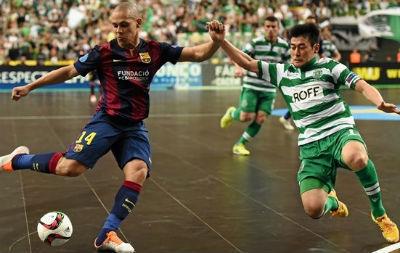 Кубок УЕФА. Полуфинал. Барселона Алуспорт – Спортинг 5:3