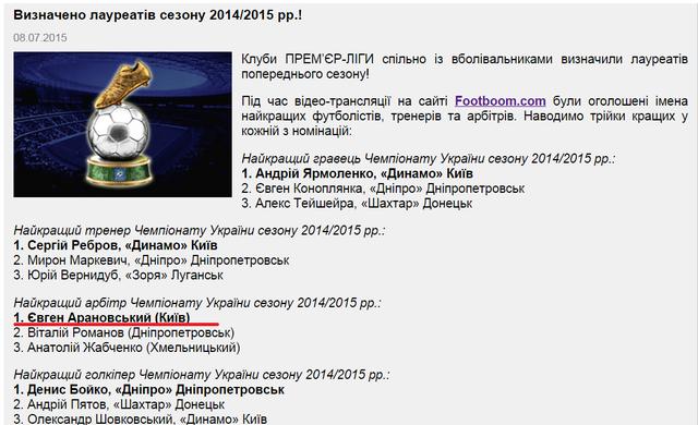Лжепророки. Як Арановського кращим в Україні визнали  - изображение 1