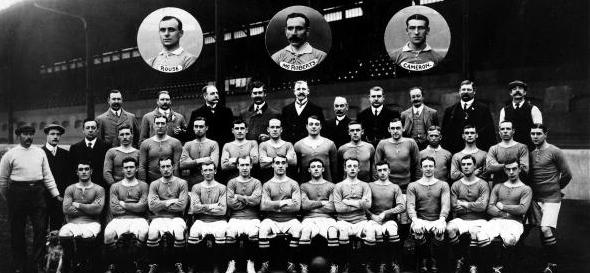 Челси. Состав 1907-го года