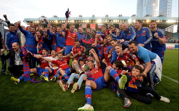 ЦСКА - чемпион России сезона-2014/2015