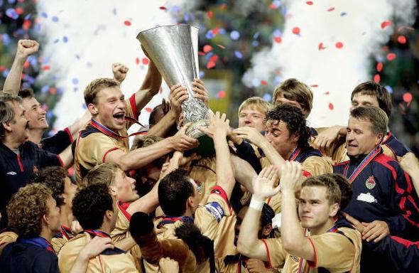 ЦСКА - победитель Кубка УЕФА