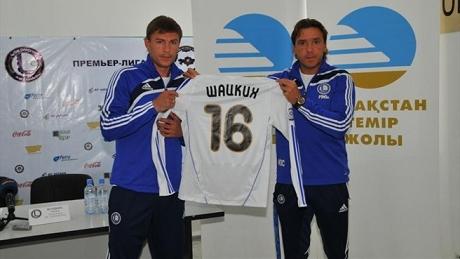 Максим Шацких открывает казахский этап карьеры
