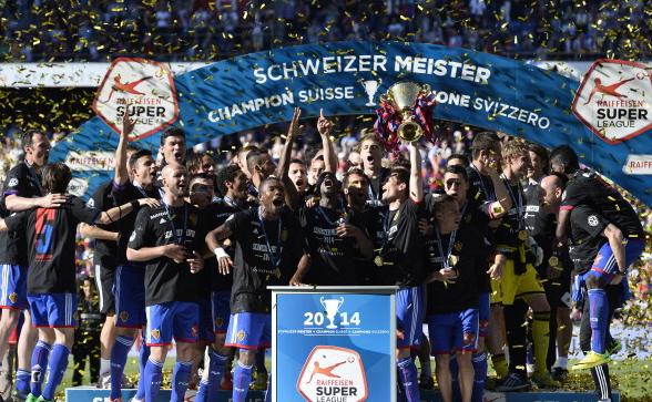 Базель - бессменный чемпион Швейцарии последних лет