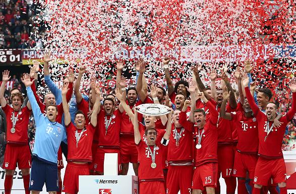 """""""Баварія"""" - чемпіон Бундесліги-2015"""