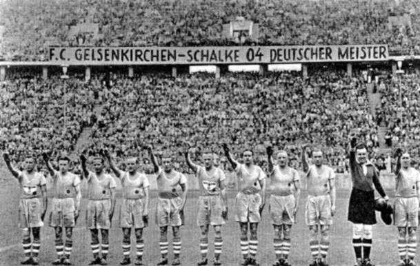 Шальке - любимая команда Гитлера
