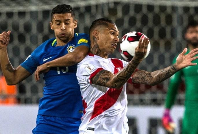 Перу - Бразили 0:2. Видео голов и обзор матча